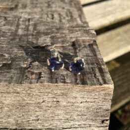 Chilli Designs Iolite Stud Earrings 2