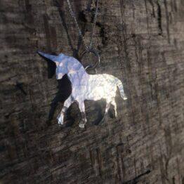 Chilli Designs Unicorn Pendant 3