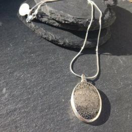 Chilli Designs Coral Fossil Pendant