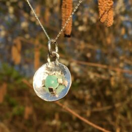 Chilli Designs Amazonite Disc Pendant 1