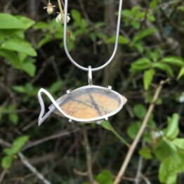 Chilli Designs fish pendant