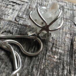 Chilli Designs Quartz Cluster necklace