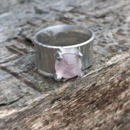 Chilli Designs Rose Quartz Ring