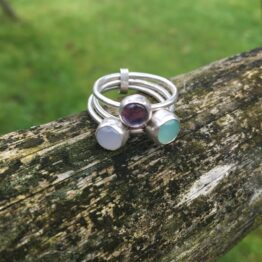 Chilli Designs Three Rings linked