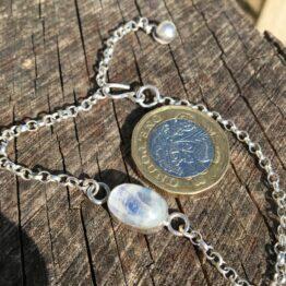 Chilli Designs moonstone bracelet
