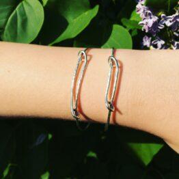 Chilli Designs adjustable textured bangle