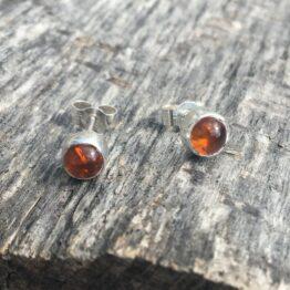 Chilli Designs amber studs