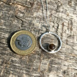 Chilli Designs tigers eye necklace