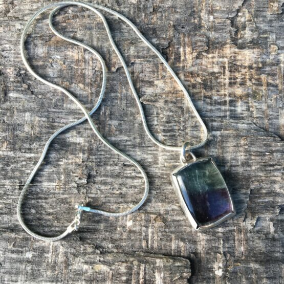 Chilli Designs fluorite pendant