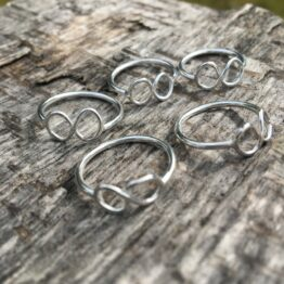 Chilli Designs infinity ring