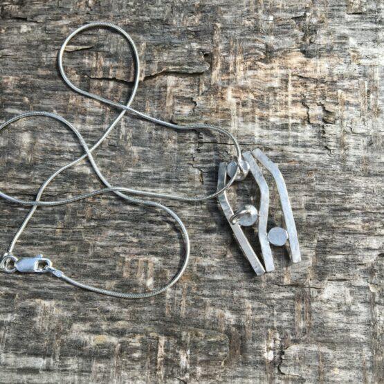 Chilli Designs multi stone pendant